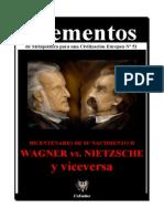 Elementos Nº 51. Wagner II