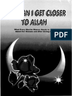 Get Proximity to ALLAH