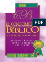 El Conocimiento Bíblico - Génesis.pdf