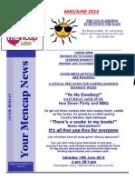 May June 2014-Newsletter