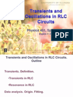 Transients and Oscillations in RLC Circuits(v2m)