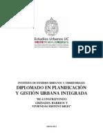 Diplomado en Gestion Urbana Integrada