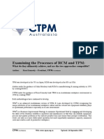 20110926 Examining RCM vs TPM