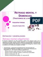 Retraso Mental y Demencias