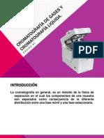 Cromatografía de Gases y Cromatografía Liquida