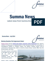 Summa Group News July