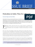 Indian Federalism 1
