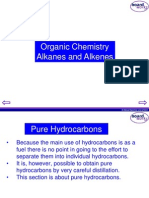 KS4 Organic Chemistry - Alkanes and Alkenes - Student Copy