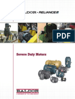 Baldor Severe Duty Motors