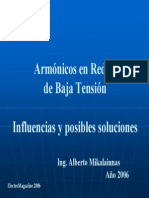 Curso Armónicos en BT 2006