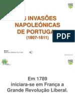 Hist8 as Invasoes Napoleonicas
