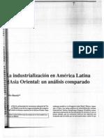 Bustelo - La Industrializacion en America Latina y Asia Oriental