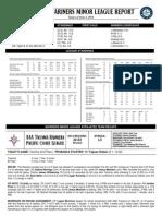 06.03.14 Mariners Minor League Report