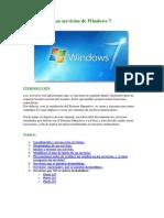 Los Servicios de Windows 7