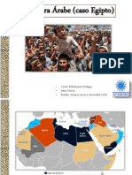 Primavera Árabe (Caso Egipto)