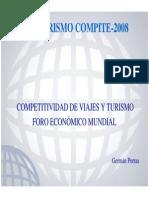 Competitividad d Eviajes y Turismo. German Porras