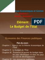 Economie Des Finances Publiques Cours Chapitre I