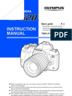 Olympus E-520 Instruction Manual