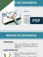 Indices de Solvencia