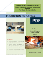 Guias de Laboratorio 1 de Manufactura FUNDICION en ARENA