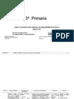Planificación Final 070 3º Prim.