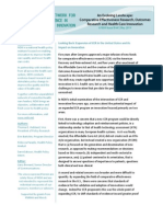 Outcomes Research and Health Care Innovation - May 20 Copy1