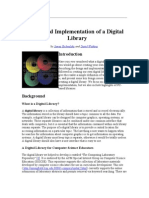 Design and Implementation of a Digital Library