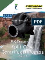 SKD Split Case Centrifugal Pump Brochure