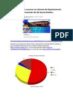Valoración Dos Recursos en Internet Do Departamento de Orientación Do IES García Barbón