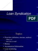 Syndicated Loan Market