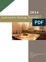 yellow car - final draft - gastronomic heritage tourism