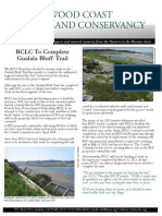 Fall 2012 Redwood Coast Land Conservancy