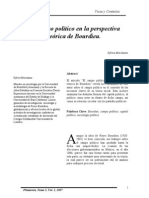 Campol Politico- Bordieau