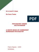 Psychiatry under comunist dictatorship in Romania