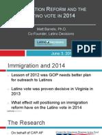 CAP LD Legislative Action CIR June 2014