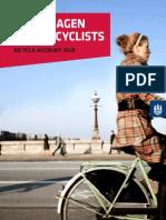 Bicycle Account 2010 Copenhagen
