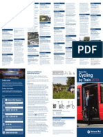 Cycling by Train 2010 Leaflet