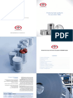 ERD Tin Product Brochure