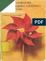 Kolakowski Leszek - Las Principales Corrientes Del Marxismo - Vol. 1 Los Fundadores