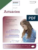 Actuarial Studies