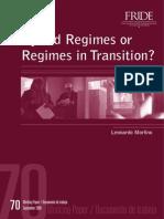 Morlino - Hybrid Regimes in Transition