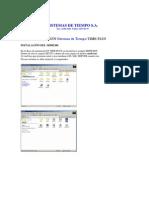 Pasos Instalacion Software Time Plus
