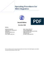 MECC Standard Operating Procedures Final Nov 08