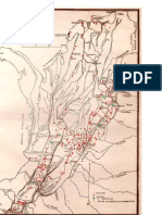 Mapa Colombia Sangrienta y Mapa 1863-1886