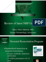 Dr Johnson on Neonatal Resuscitation Guidelines 041707