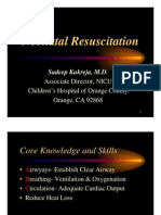 Neonatal Resuscitation Power Point