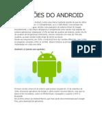 Versões Do Android 2