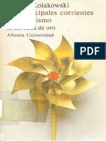 Kolakowski LeszeK - Las Principales Corrientes Del Marxismo - Vol. 2 La Edad de Oro