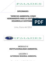 LECCION 3-Autoridad Regional Ambiental