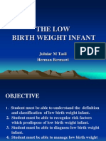 Low Birthweight Infant
